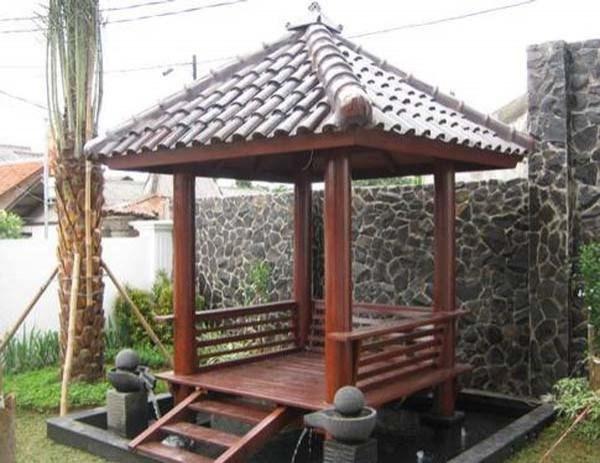 saung/gazebo